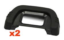 2x Oeilleton viseur eye cup eyecup compatible DK-21 22mm pour Nikon D750 D610