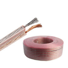 8 10 12 14 16 18 Gauge AWG Copper Speaker Wire Car Home Theater Audio Cable Lot