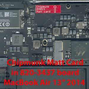 "Matt card: Apple EFI Firmware Unlock MacBook Air 13"" 2013/2014  (unlocks 1 Mac)"