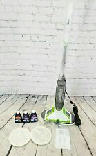 New Open Box BISSELL SpinWave Powered Hard Floor Mop in Green - JE691