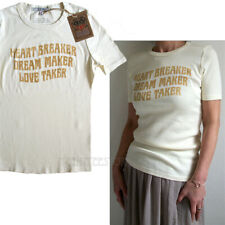 Junk Food Heart Breaker Dream Maker Love Taker Lyric Slim Fit Cotton Rib T-shirt