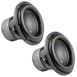 "12"" Subwoofers Dual 4 Ohm 1100 Watts Rms Car Audio Audiopipe Txx Bdc4 12 Pair"