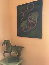 LISTED ARTIST painting ABSTRACT modernist EXPRESSIONISM Dr. Benjamin Gross