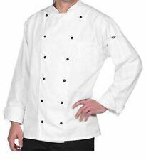 Uncommon Threads Naples Chef Coat Uniform, White, Size 4Xl Ut-0438 Nwot