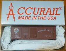 Accurail HO #3817  NP  ( 40' Steel Combo-Door Boxcar ) Kit