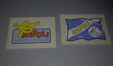 PANINI SUPER CALCIO  bandiera e slogan NAPOLI calcio
