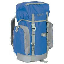 Camping Backpacking Blue Gray Gear Bag 25 Liter Day Pack Backpack Survival Hike