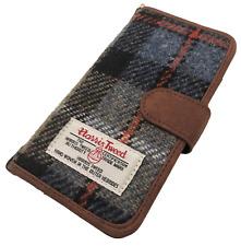 HARRIS TWEED IPHONE 6 7 8 FOLIO PHONE CASE COVER WALLET TARTAN FLIP