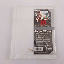 Pioneer Magnetic 20 Fast Stick Pages White Photo Album, New Sealed