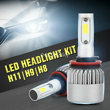 12V 24V 200W LED H8 H9 H11 Headlight Bulbs High Low Beam 6000K White High Power