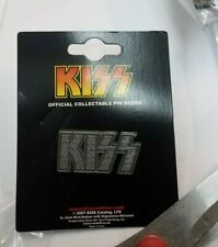 KISS  LAPEL PIN  NEW 2007 VINTAGE OOP RARE COLLECTIBLE