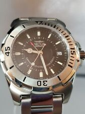 GMT Sector Snl 255 Date Sapphire Crystal 100mts Water Resistant Men's Watch