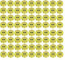 "New Worth Ncaa 72 count 12"" training/practice softballs softball soft ball Nc12S"