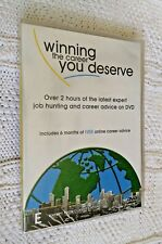 WINNING THE CAREEN YOU DESERVE - DVD, R-ALL, NEW,  FREE POST WITHIN AUSTRALIA