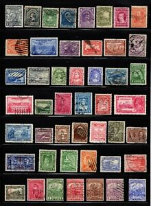 Lot 47 good stamps Newfoundland Canada used ..