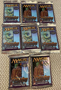 SEALED Magic the Gathering MERCADIAN MASQUES booster pack Lot Of-(8)-15 Cards!!!