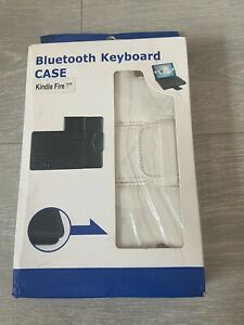 Bluetooth Keyboard Tablet Case For Amazon Kindle 7