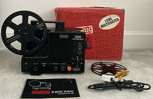 EUMIG S905 Super 8 Cine Movie Film Sound Projector In Box