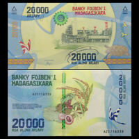 Madagascar 20000 Ariary, ND(2017), P-104 NEW, NEW Design, UNC