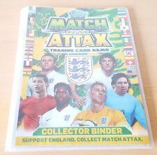 Topps Match Attax Brazil 2014 World Cup Collector Binder & 80 Trading Cards VGC