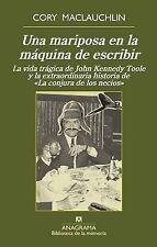 Una mariposa en la maquina de escribir (Biblioteca De La Memoria) (Spanish Editi