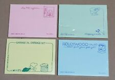 Vintage Post It Notes 1986 Ziggy Lot Of 4 Different Styles Still Sealed 01