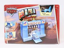 Disney Cars MINI ADVENTURES Dinoco Garage Playset includes The King