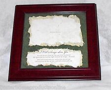 """Valentine's Day Wedding Anniversary Picture Frame 8""""x10"""" I'll Always Love You"""