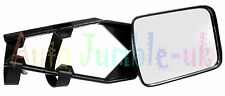 Single Towing Mirror Wing Mirror Extender Convex Wide Glass E-Marked Approved