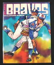 1973 Atlanta Braves OFFICIAL BASEBALL YEARBOOK