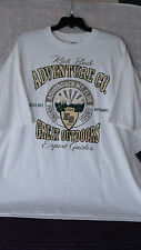 4X:NEW BIG DADDY TEE;KICK BACK ADVENTURE.COMPANY-ADIRONDAK MTN CLUB HIKING TOURS