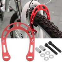 Aluminum Alloy Bicycle V-Brake Brake Boosters with Screws for Mountain Bike red