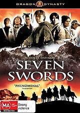 SEVEN SWORDS - BRAND NEW & SEALED 2-DISC DVD (MARTIAL ARTS, JET LI, DONNIE YEN)