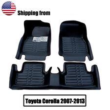 For Toyota Corolla 2007 2013 Car Floor Mats Front Amp Rear Liner Waterproof Mat Fits 2012 Toyota Corolla