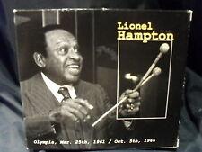 Lionel Hampton - Olympia, Mar. 25th, 1961 / Oct. 5th, 1966  -2CDs