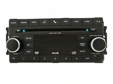 Chrysler Dodge Jeep CD6 MP3 DVD Sirius U-Connect radio w/ aux. REQ CD 6 stereo