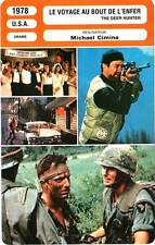 FICHE CINEMA : VOYAGE AU BOUT DE L'ENFER - De Niro,Cimino 1978 The Deer Hunter