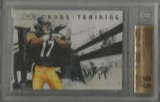 Mike Wallace 2009 R&S ROOKIE AUTOGRAPH CARD #/10 SIGNED BGS GEM MINT 9.5/10 AUTO