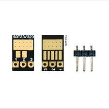 12 x SMD-Adapter SOT23, SOT323 auf Rastermaß 2,54mm
