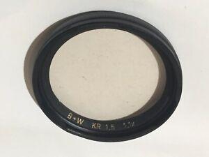 Rolleiflex Fit Schneider B+W Kr1.5 Skylight Filter For Rolleiflex Clean