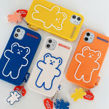 Phone Case Cartoon Silicone Bear Cover For iPhone 11 Max X XR Xs 6S 7 8 SE 2020
