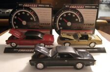 Set Of 3 Racing Champions 1/64 Muscle Cars - 1967 Chevelle & 1978 Trans-Am
