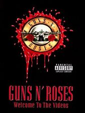 GUNS N' ROSES WELCOME TO THE VIDEOS DVD REGION 0 PAL NEW
