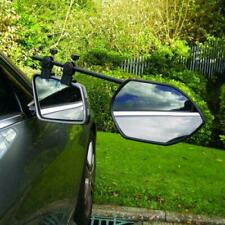Milenco Falcon Clamp On Convex Towing Mirror Twin Pack Trailer / Caravan