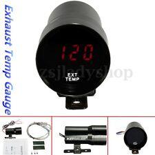 37mm Auto LED Digital Abgastemperaturanzeige Temperature Instrument Gauge Meter