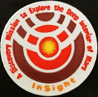 "JPL NASA INSIGHT MARS MISSION SPACE PATCH- 3.5"" Diameter"