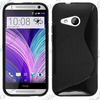 Funda carcasa billetera TPU silicona gel S-Line Para HTC uno Mini 2 (M8 mini)