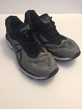 Asics GT 2000 6 T805N 1190 Stone Grey Black White Men's Running Shoes Size 11