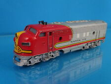 Marklin 3060 US F7 Diesel Locomotive Santa Fe Red-Silver OVP 60-ies