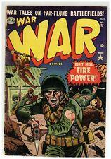 War Comics 12  Sinnott Evans Roth Golden Age battles 1952 Atlas Comics (j#2133)